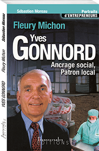 Couverture d'ouvrage : Yves Gonnord: ancrage social, patron local